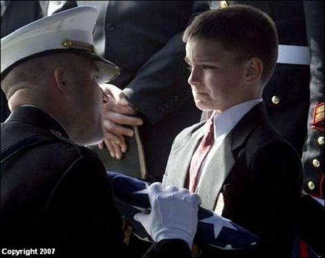 Child of Fallen Marine