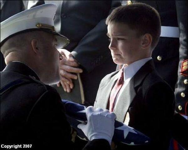 Child of Fallen Marine